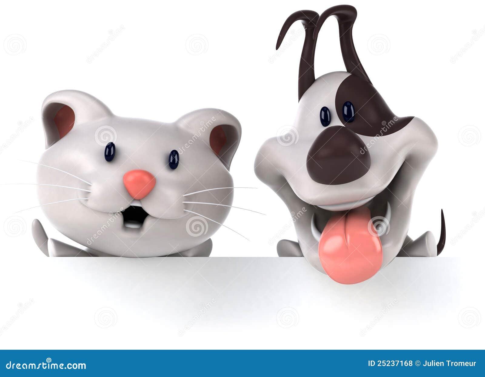Chat et crabot