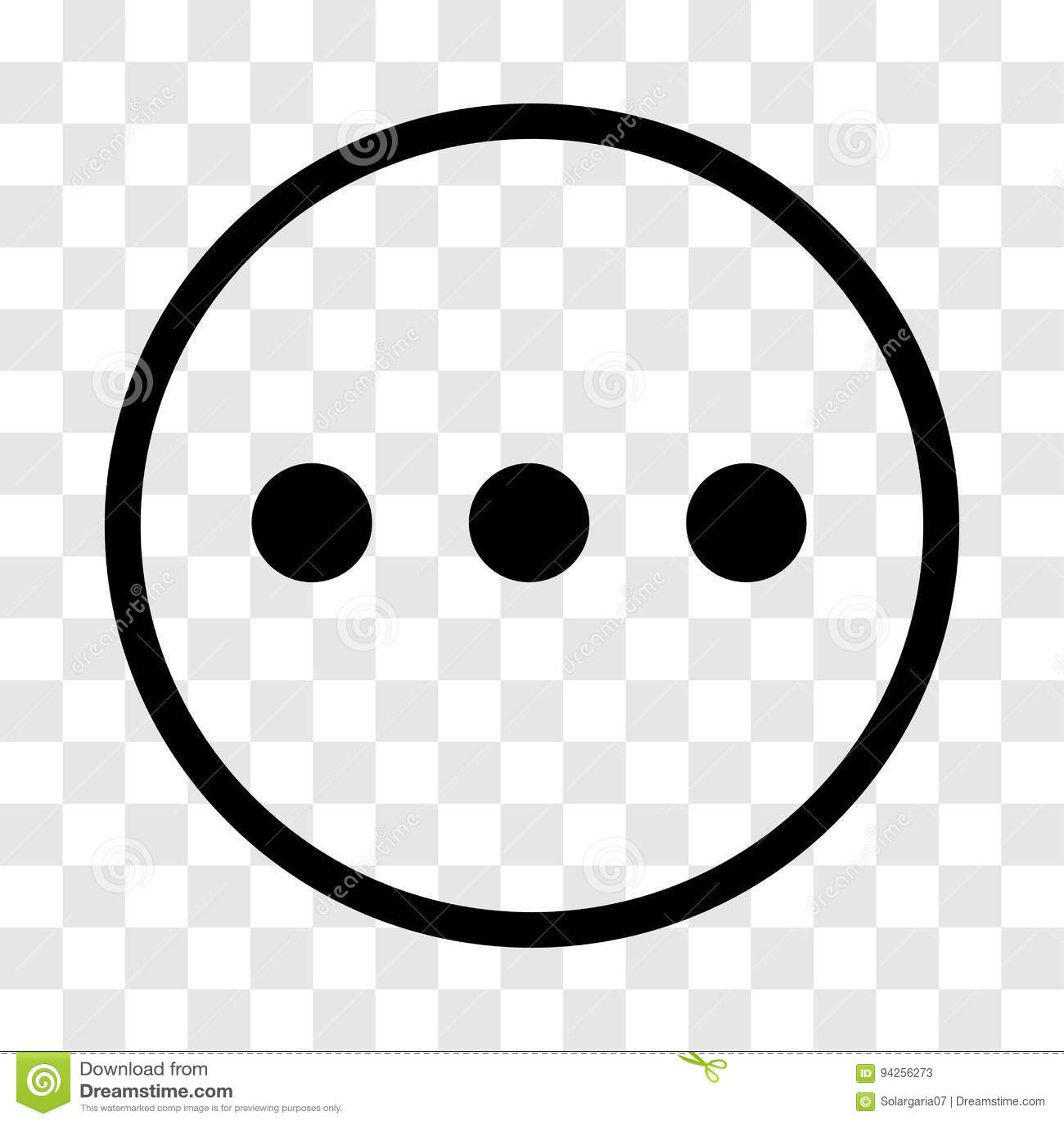 Chat sign three dots icon vector iconic design stock vector chat sign three dots icon vector iconic design biocorpaavc