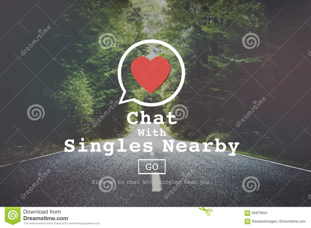 Chat with nearby singles
