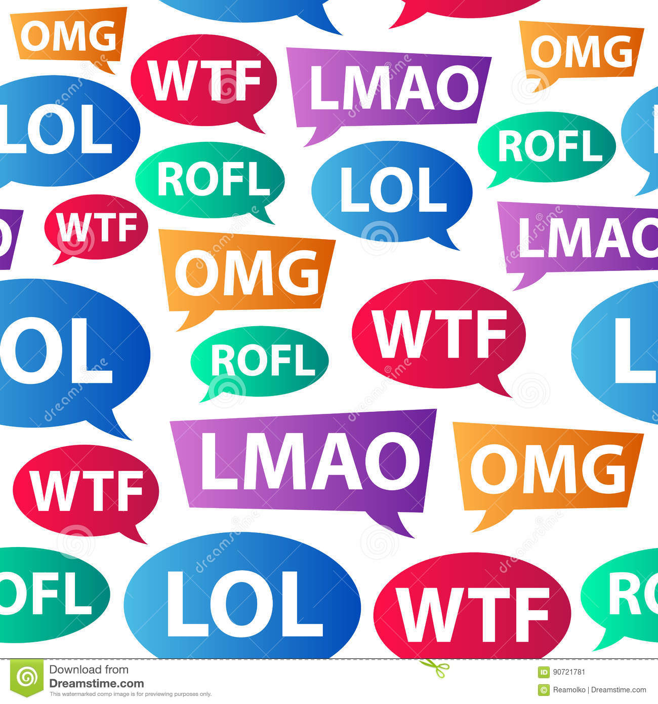 Chat words lol omg wtf rofl lmao internet slang for Rofl meaning in chat