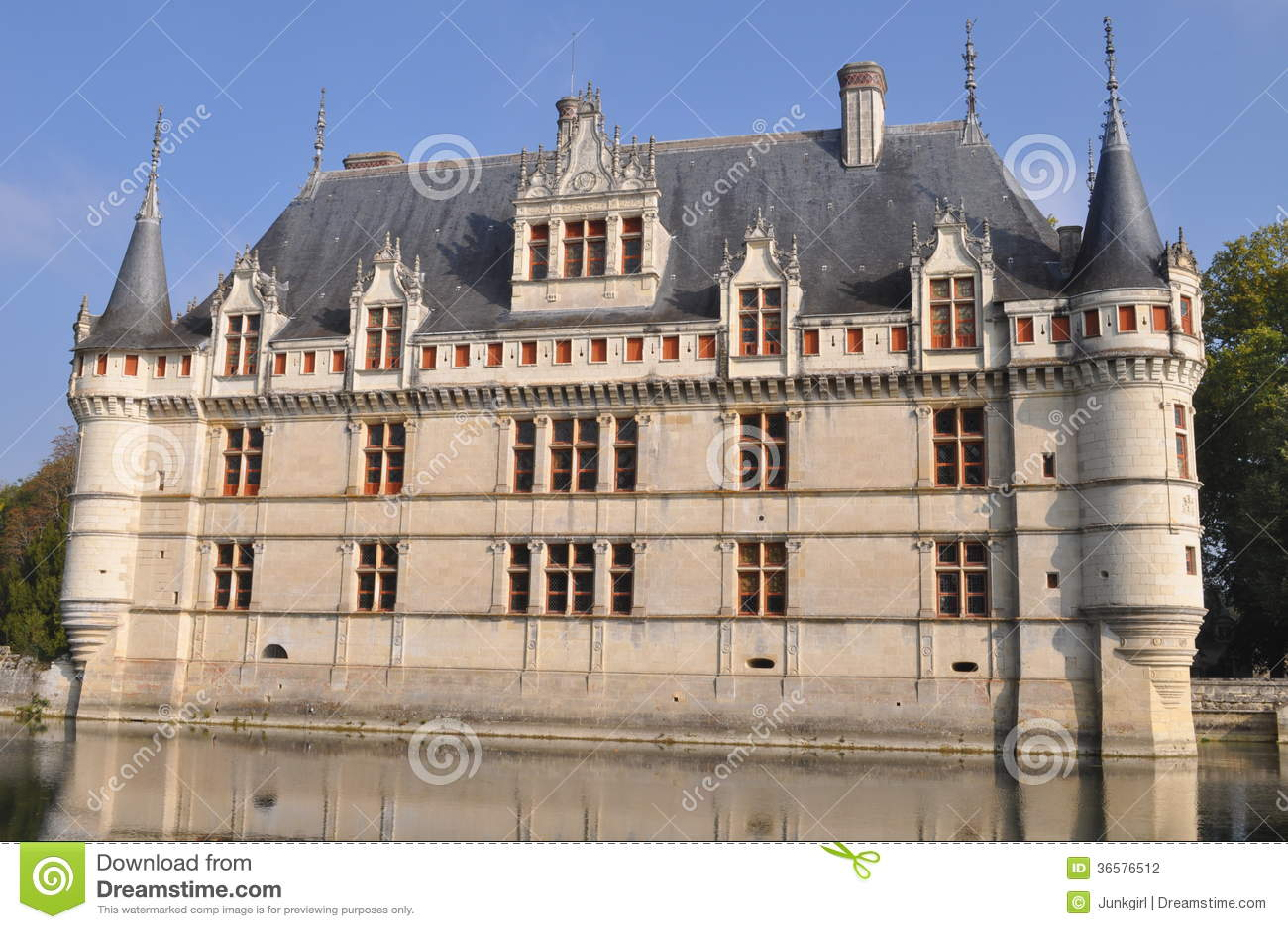 chateau stock photography image 36576512