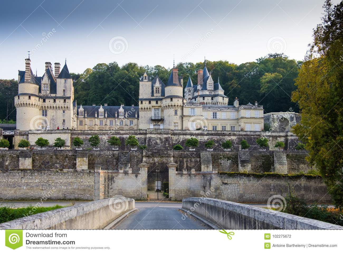Chateau d` Ussé, Loire valley, France