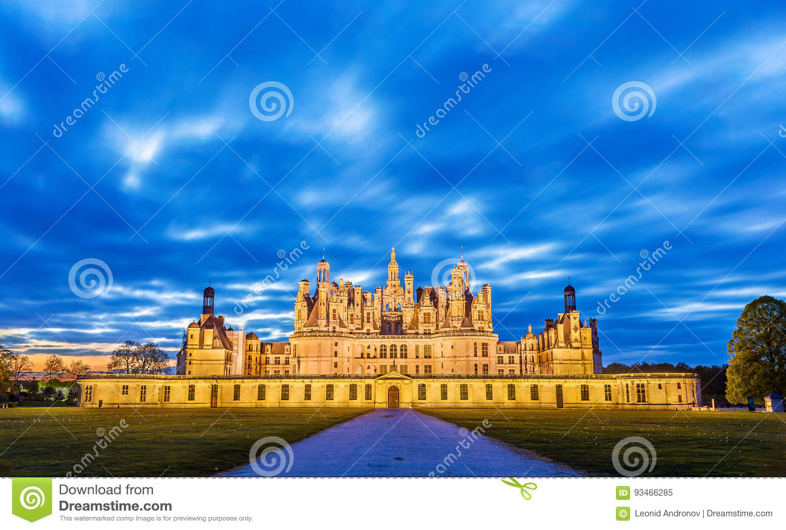 Chateau de Chambord, el castillo más grande del valle del Loira - la Francia
