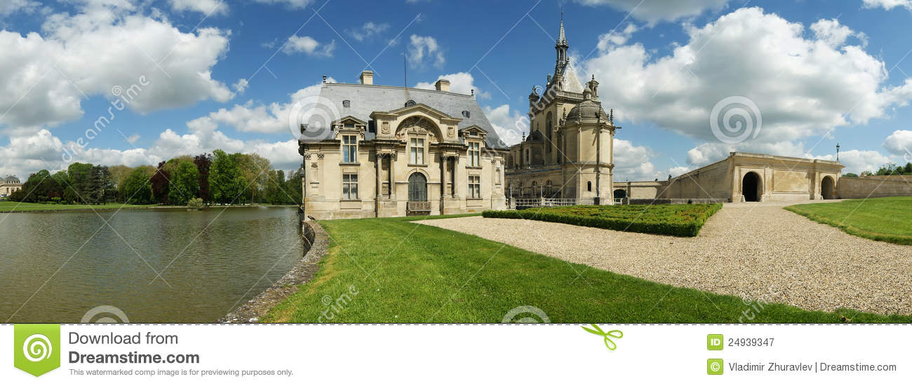 Chateau de chantilly chantilly castle france stock image image 24939347 - Chateau de chantilly adresse ...