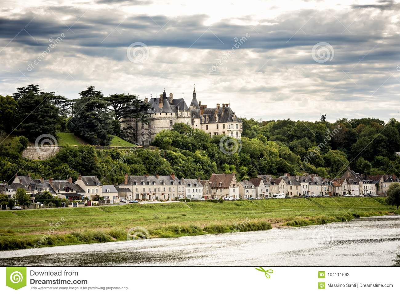 Chateau De Chaumont-sur-Loire, France. This Castle Is Located In The Loire Valley, Was Founded ...