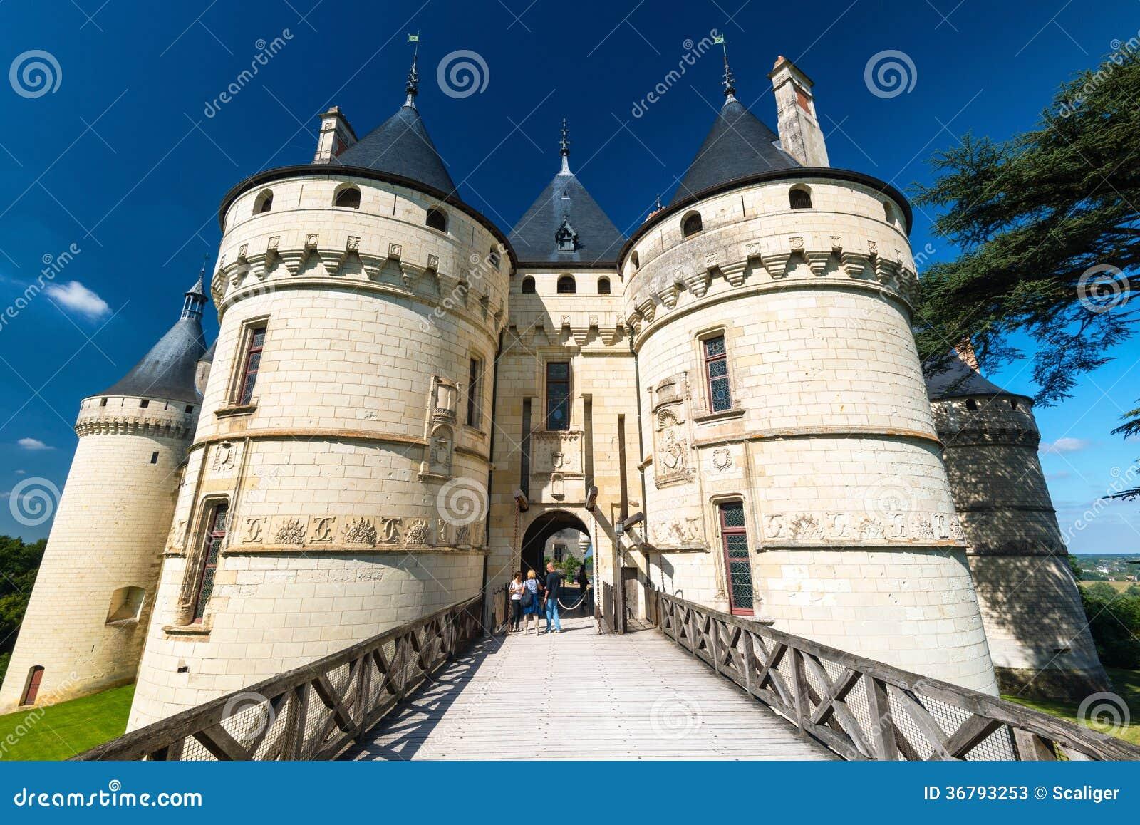 Chateau De Chaumont-sur-Loire, France Editorial Stock Photo - Image of chateaux, chaumont: 36793253
