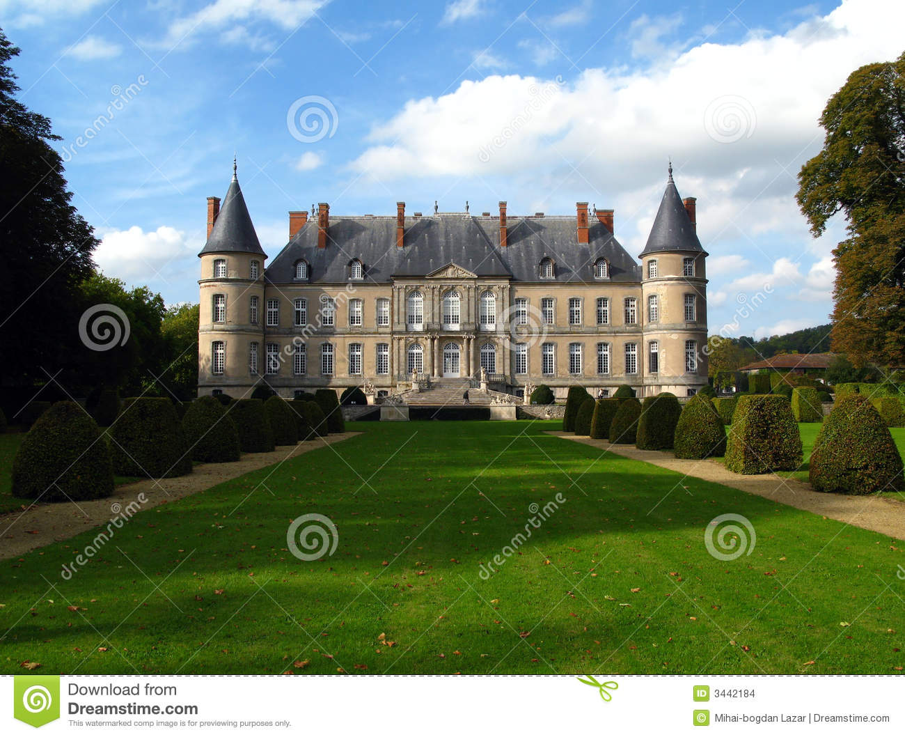 chateau de haroue france stock images image 3442184. Black Bedroom Furniture Sets. Home Design Ideas