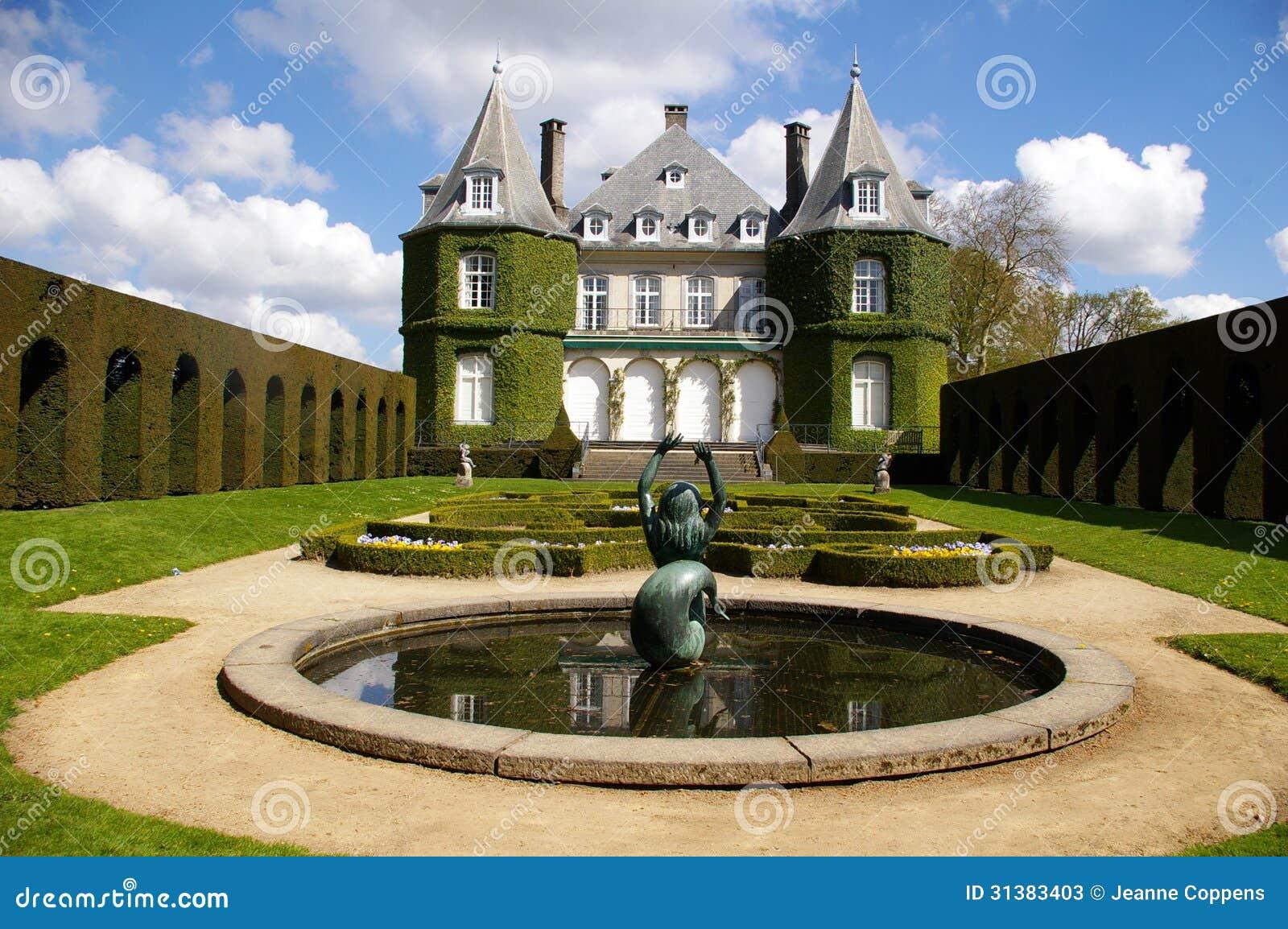 Chateau de La Hulpe,renaissance castle.