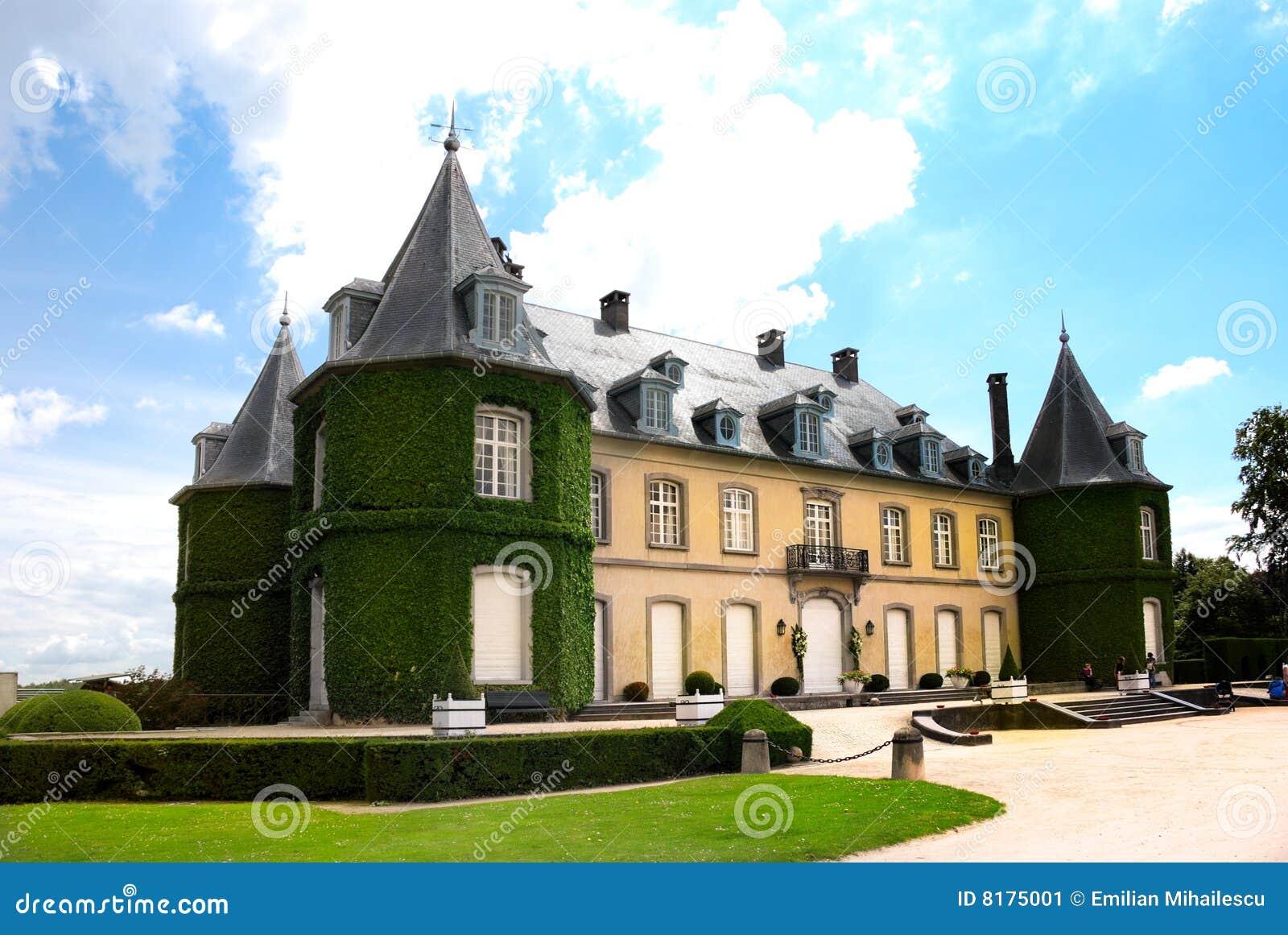 La Hulpe Belgium  city images : Chateau De La Hulpe South Of Bruxelles Belgium Stock Image Image ...