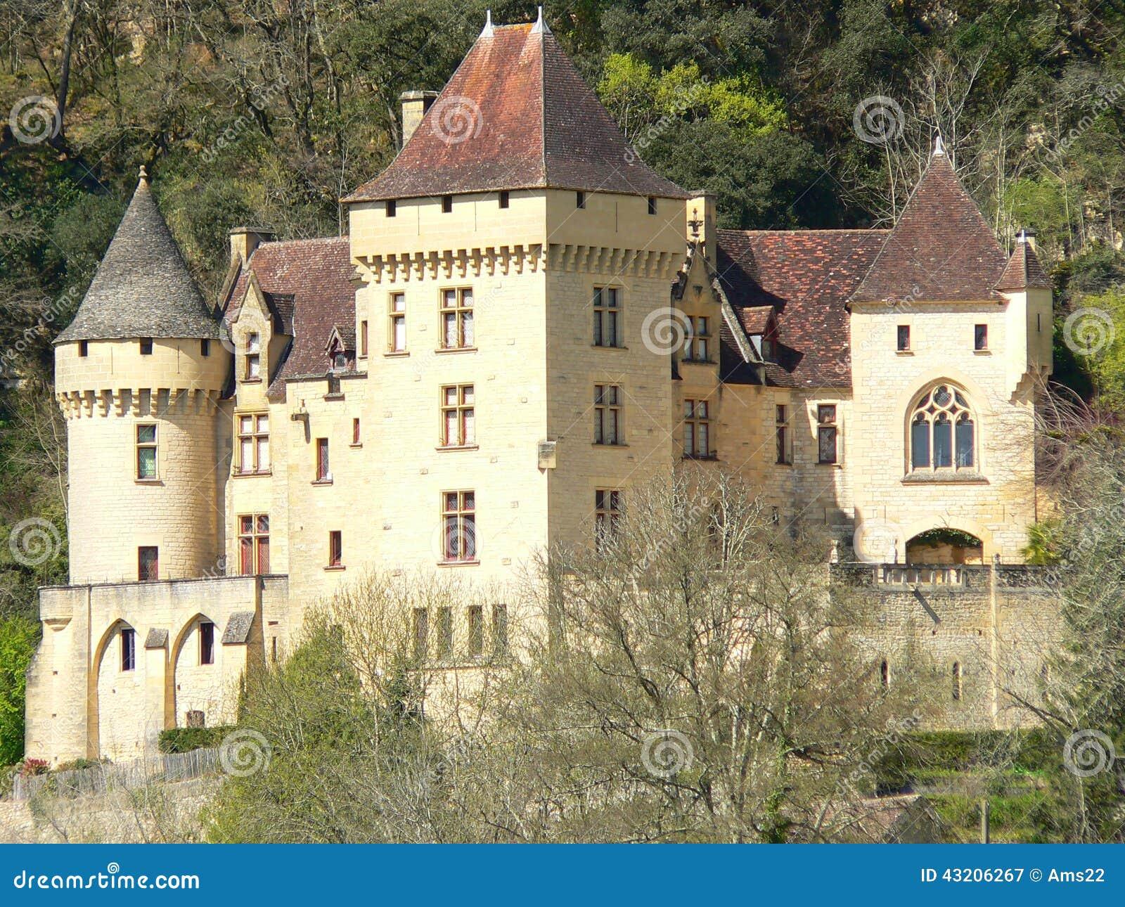 Chateau de la malartrie la roque gageac france image for Chateau la roque