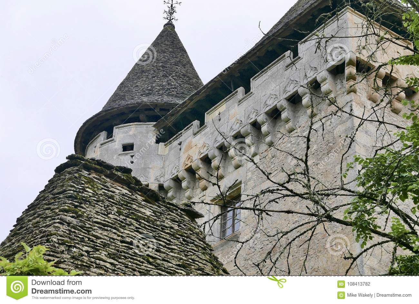 Chateau de Losse på Thonac i Dordognen
