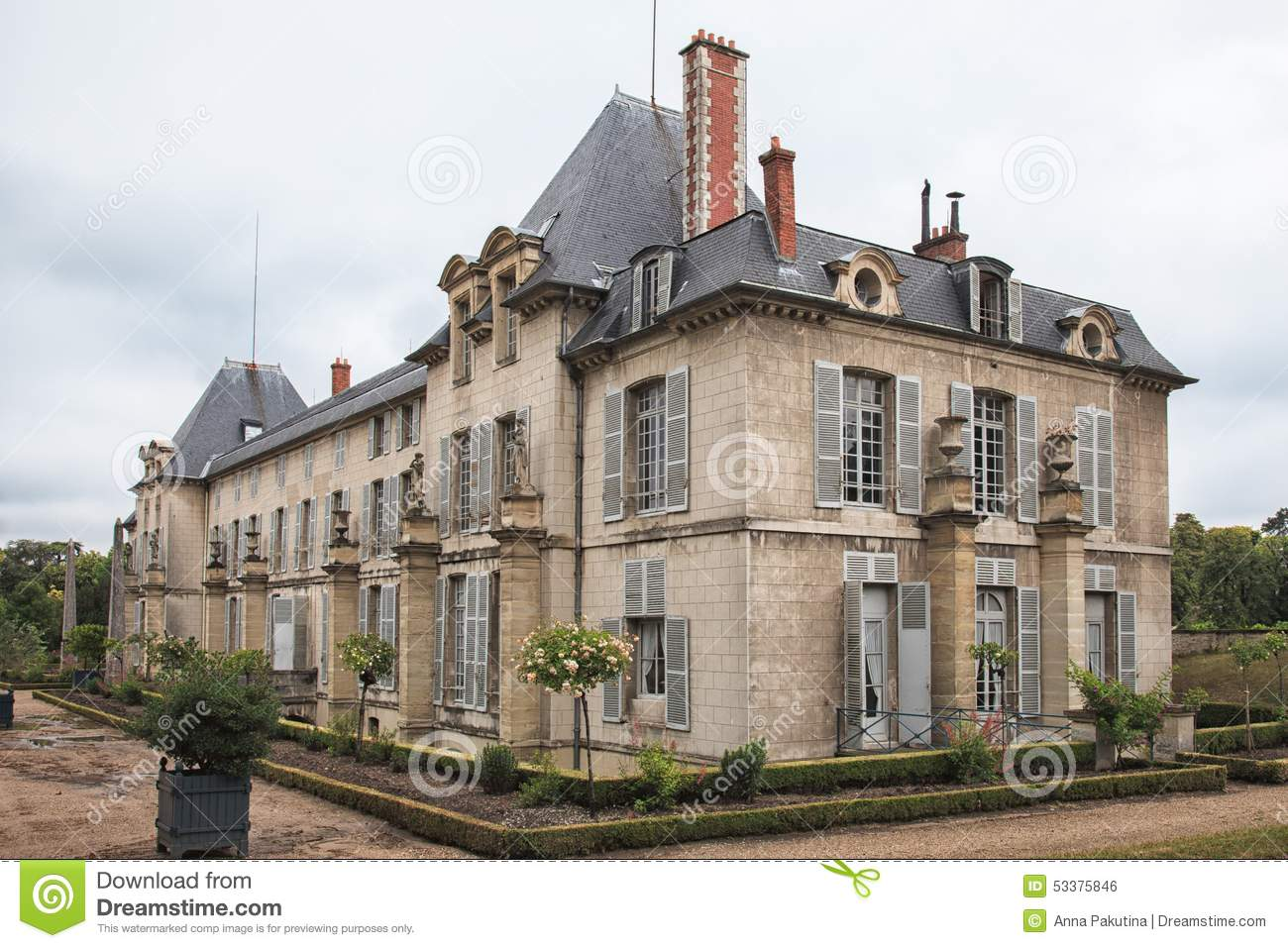 Chateau de malmaison not far from paris france stock photo image 53375846 - Chateau de beauharnais ...