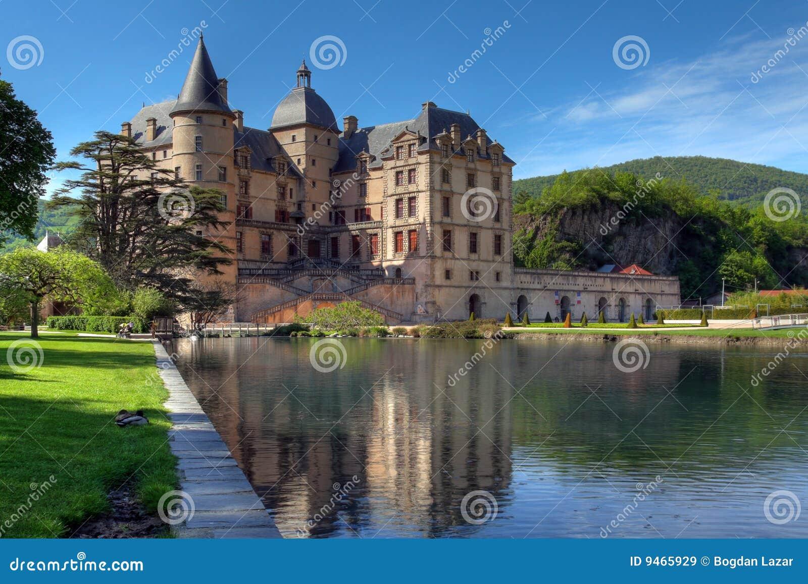 Chateau de vizille 02 vicino a grenoble la francia for Disegni di casa chateau francese
