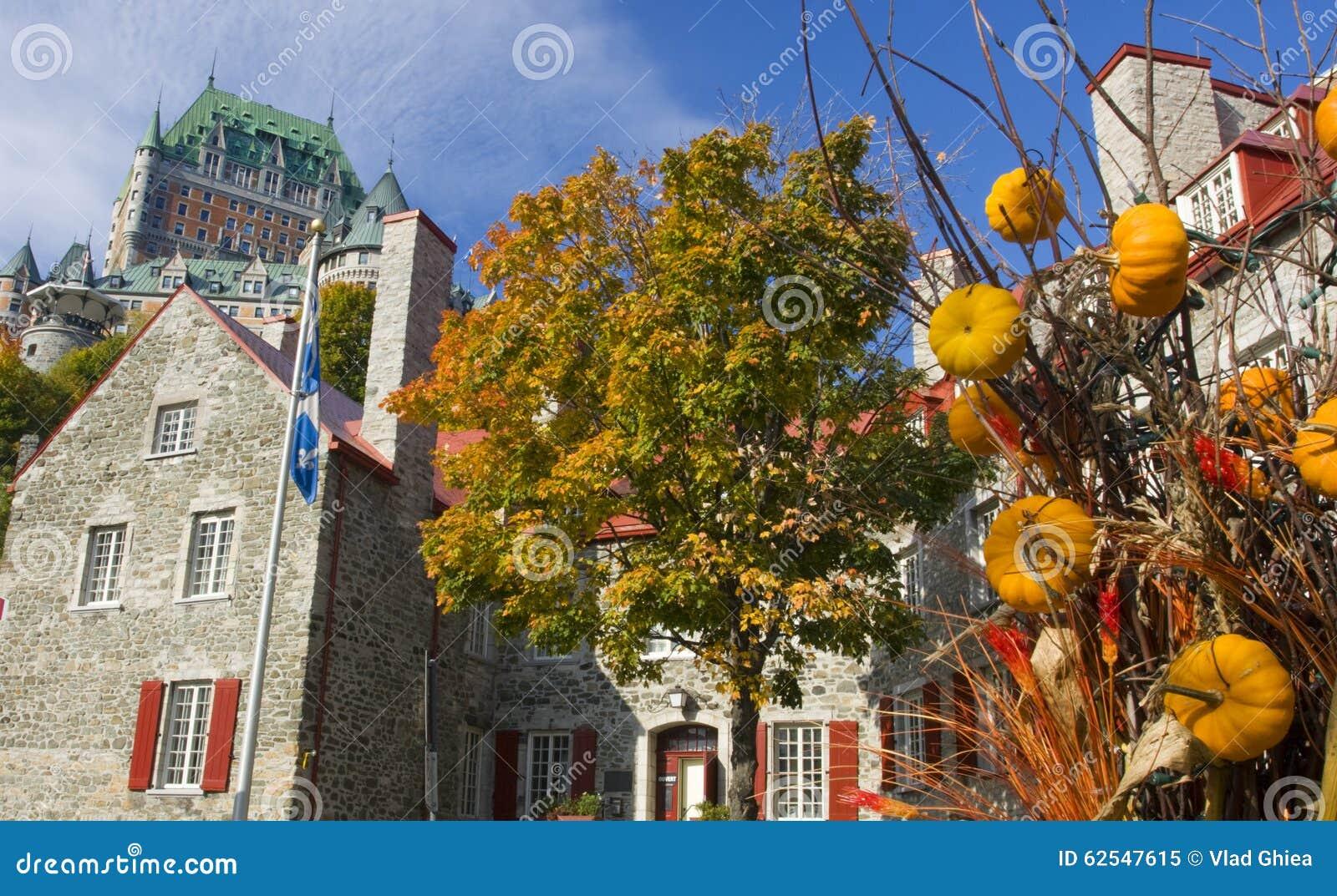 Chateau Frontenac im Herbst, Québec-Stadt