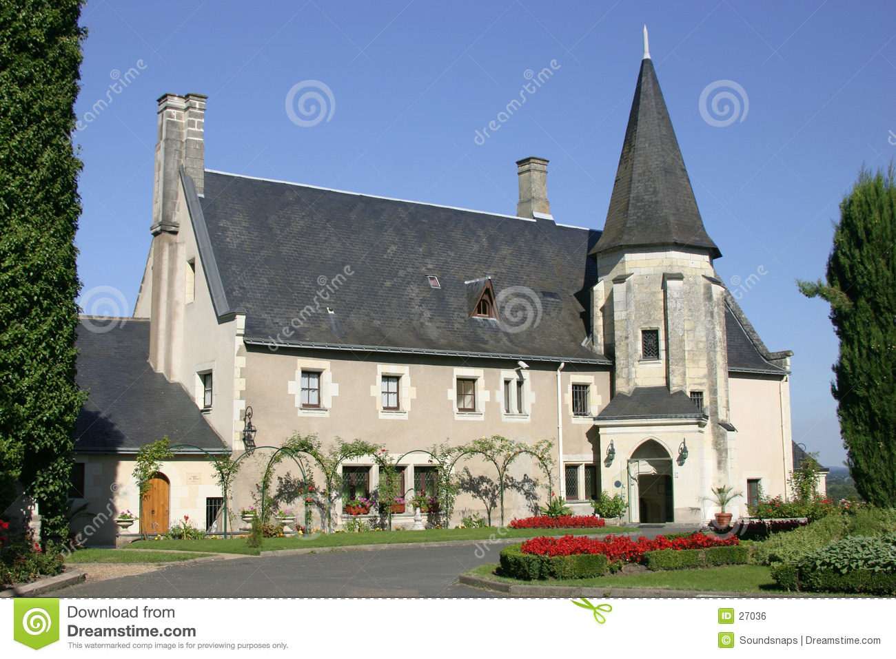 Chateau in the Loire