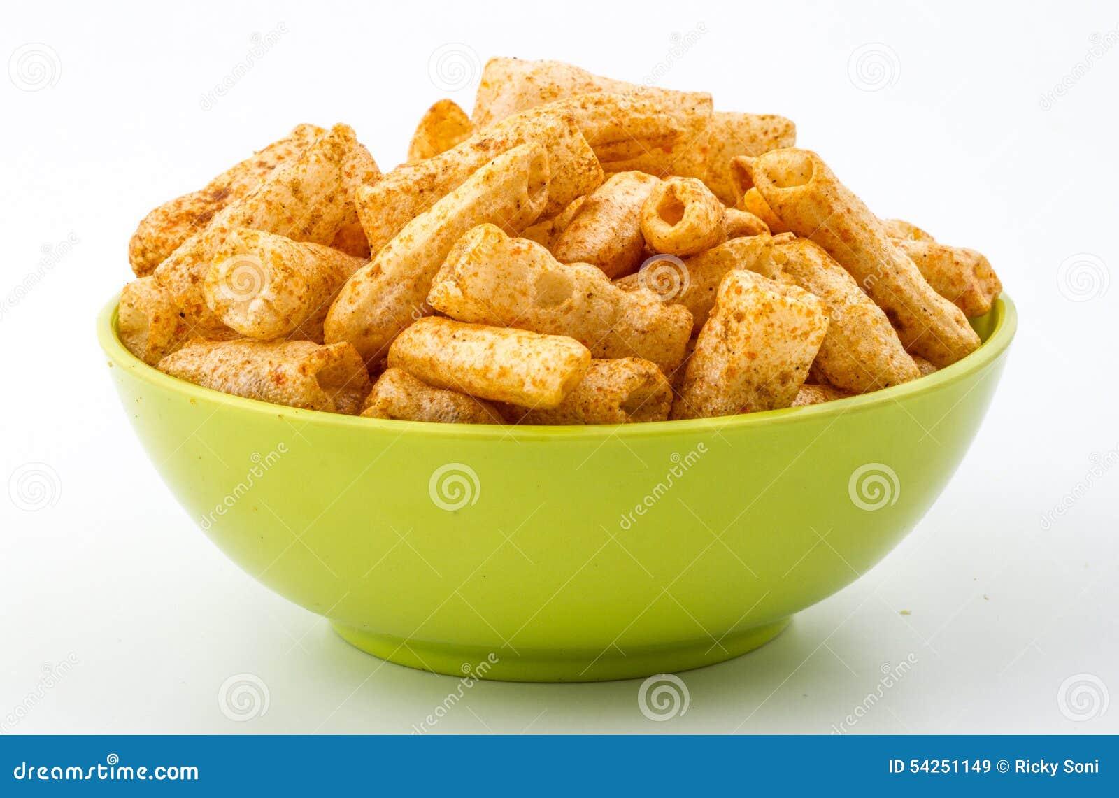 Chatpatta-Teigwaren Fryums-Lebensmittel