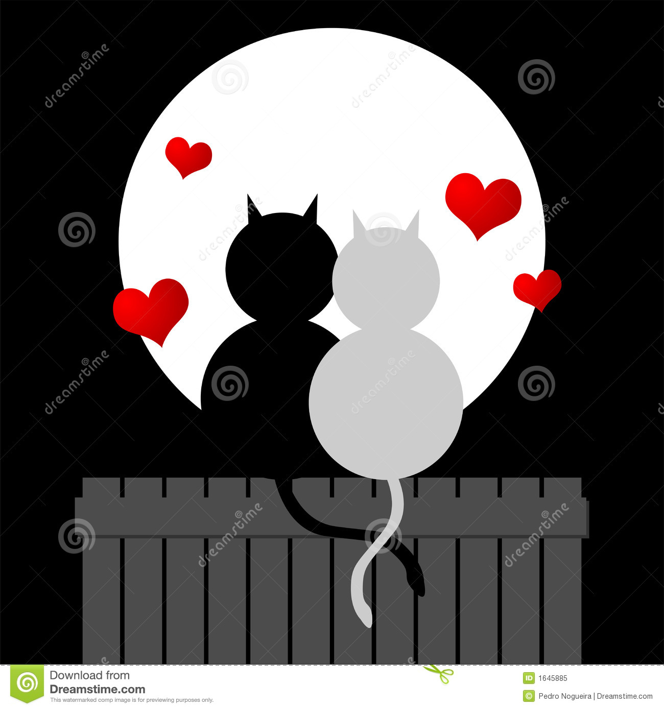Chats d amour