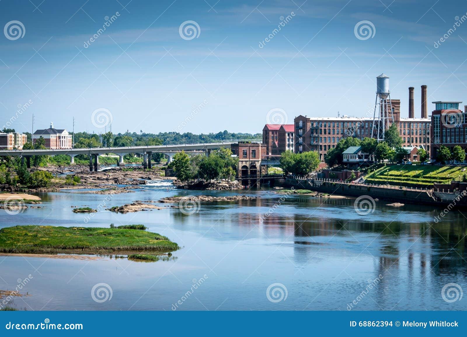 Chattahoochee Riverwalk em Columbo, GA