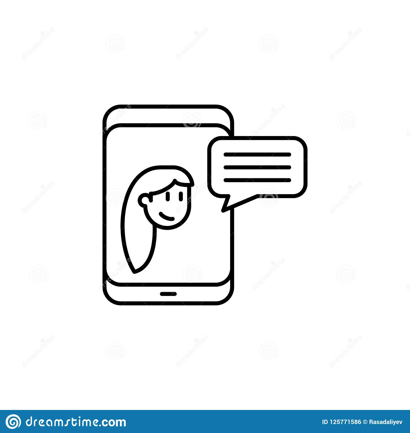 Chatting With Friend Icon  Element Of Friendship Icon For Mobile