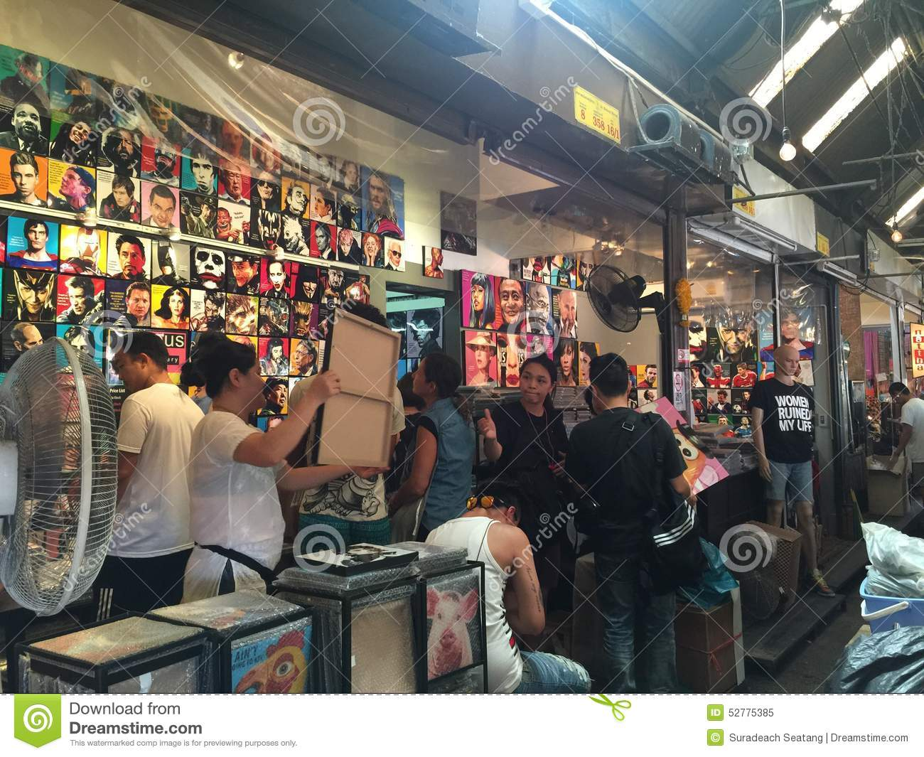 Chatuchak Weekend Market Editorial Image Image 52775385