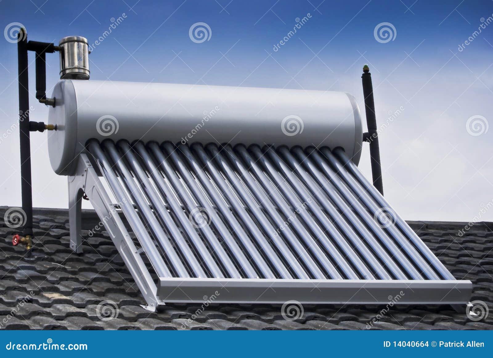 chauffe eau solaire tube