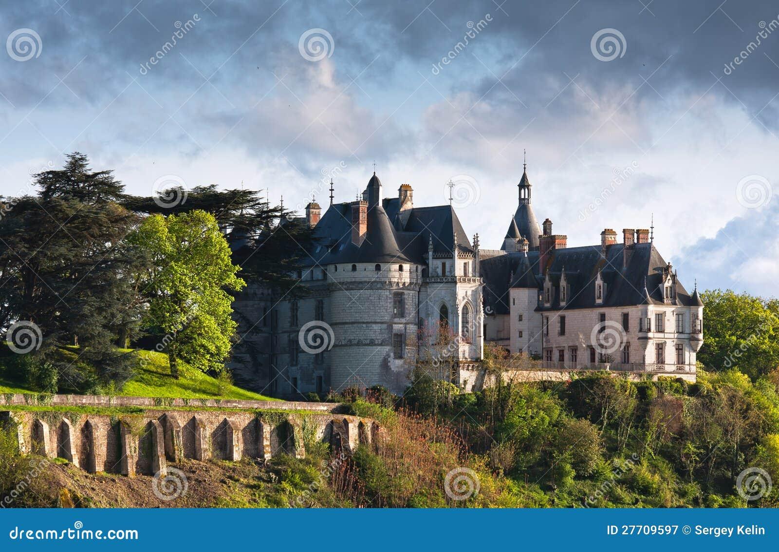 Chaumont op het kasteel van het kasteelChaumont van de Loire in Frankrijk