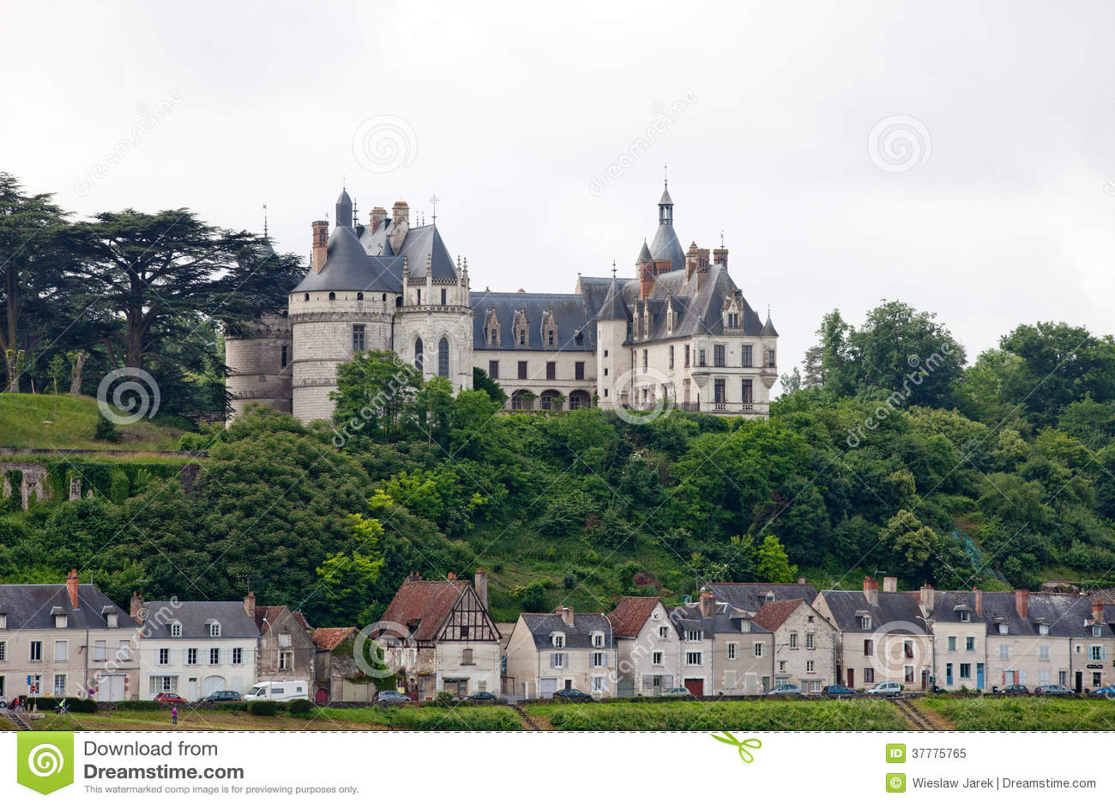 Chaumont-sur-Loirekasteel.