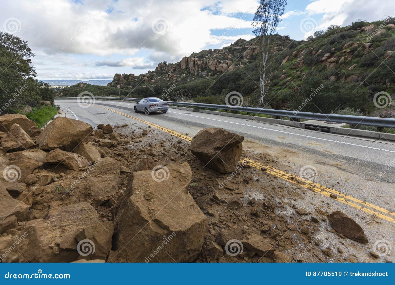 Chaussée Los Angeles de Rockslide