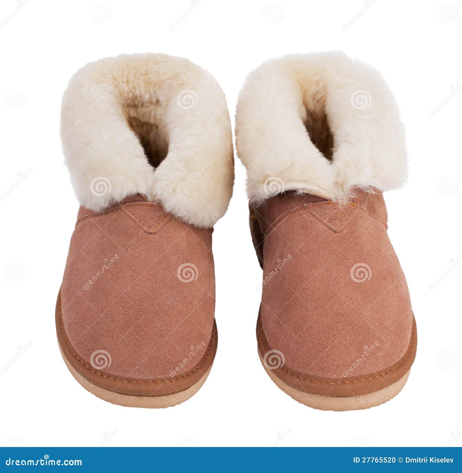 Chaussons chauds des laines