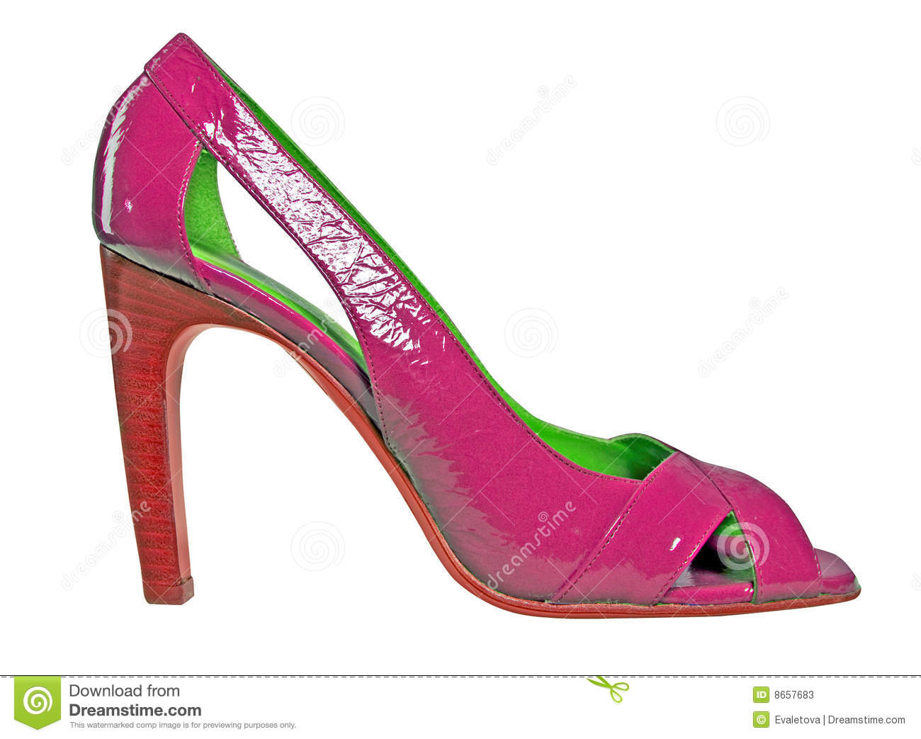 Chaussure rouge