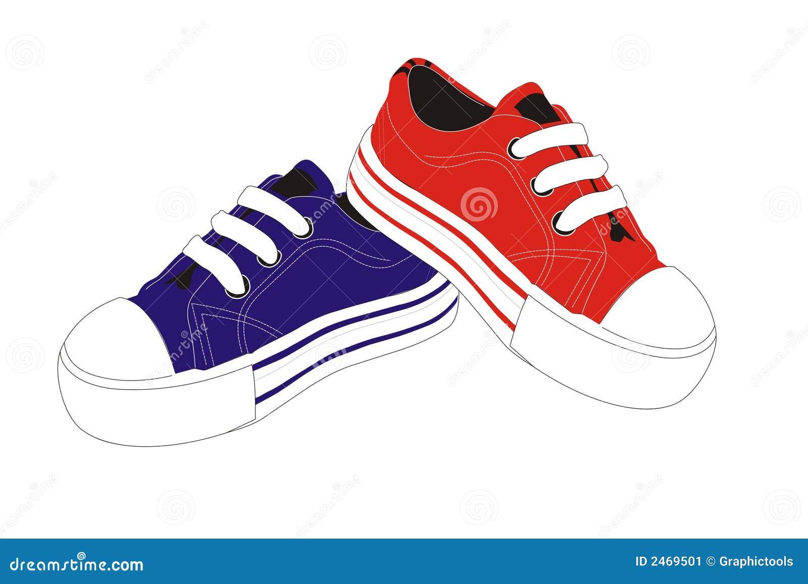 Illustration Chaussures De Sport Vecteur Illustration De Vecteur De Sport Chaussures Chaussures IY7yvfm6gb