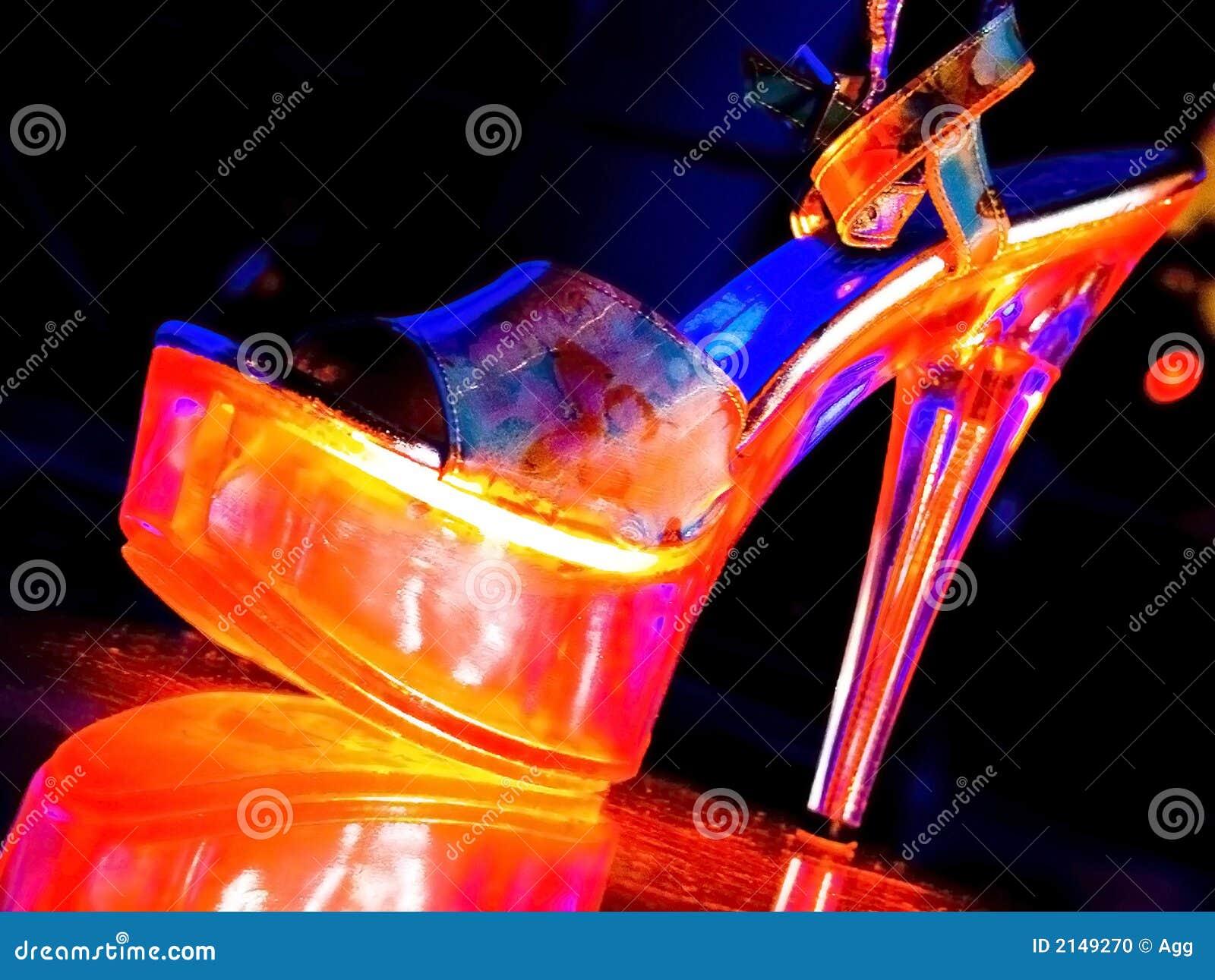 chaussures de strip tease photo stock image 2149270. Black Bedroom Furniture Sets. Home Design Ideas