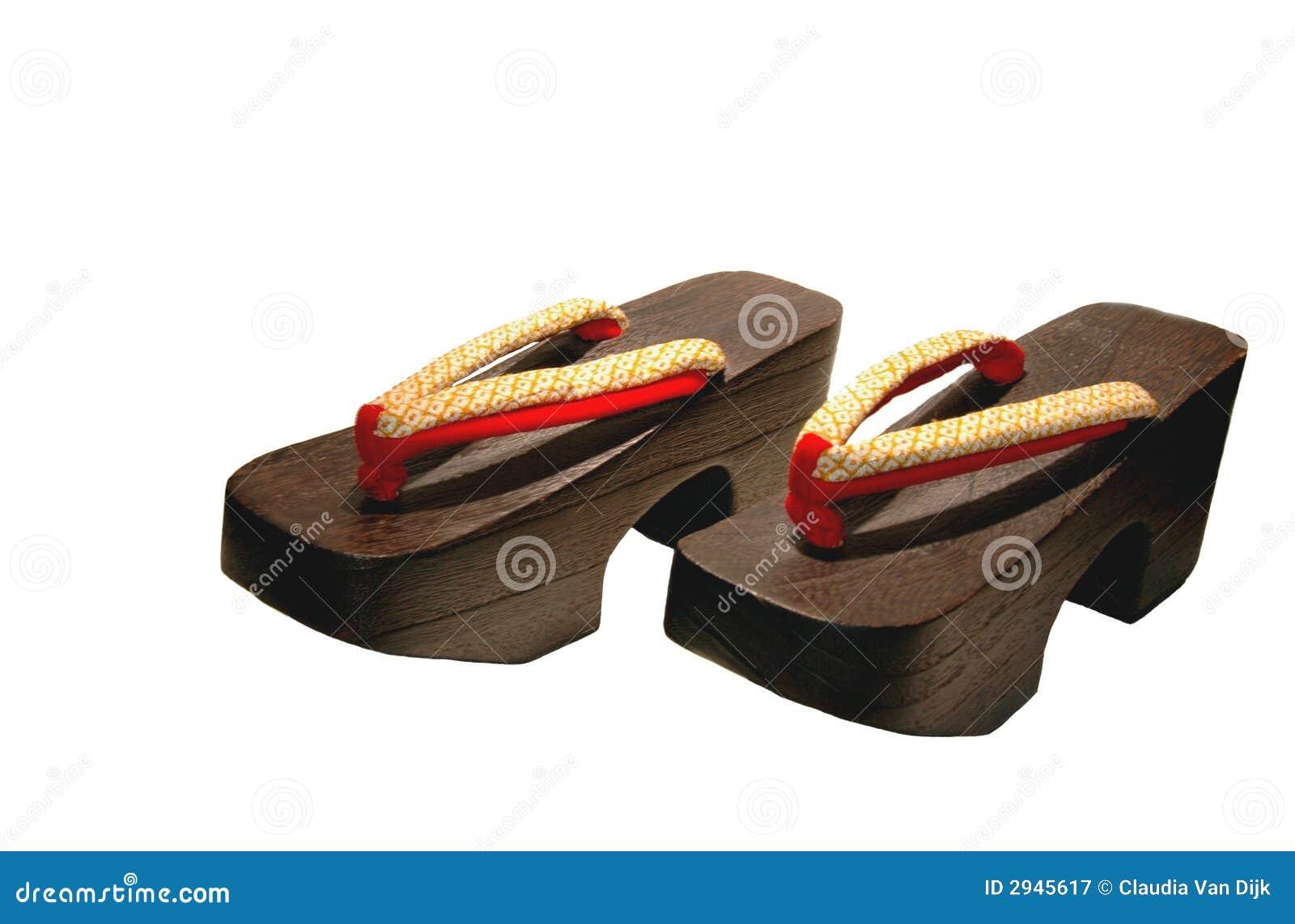 Chaussures En Bois Image Stock. Du Wooden, Japan 2945617