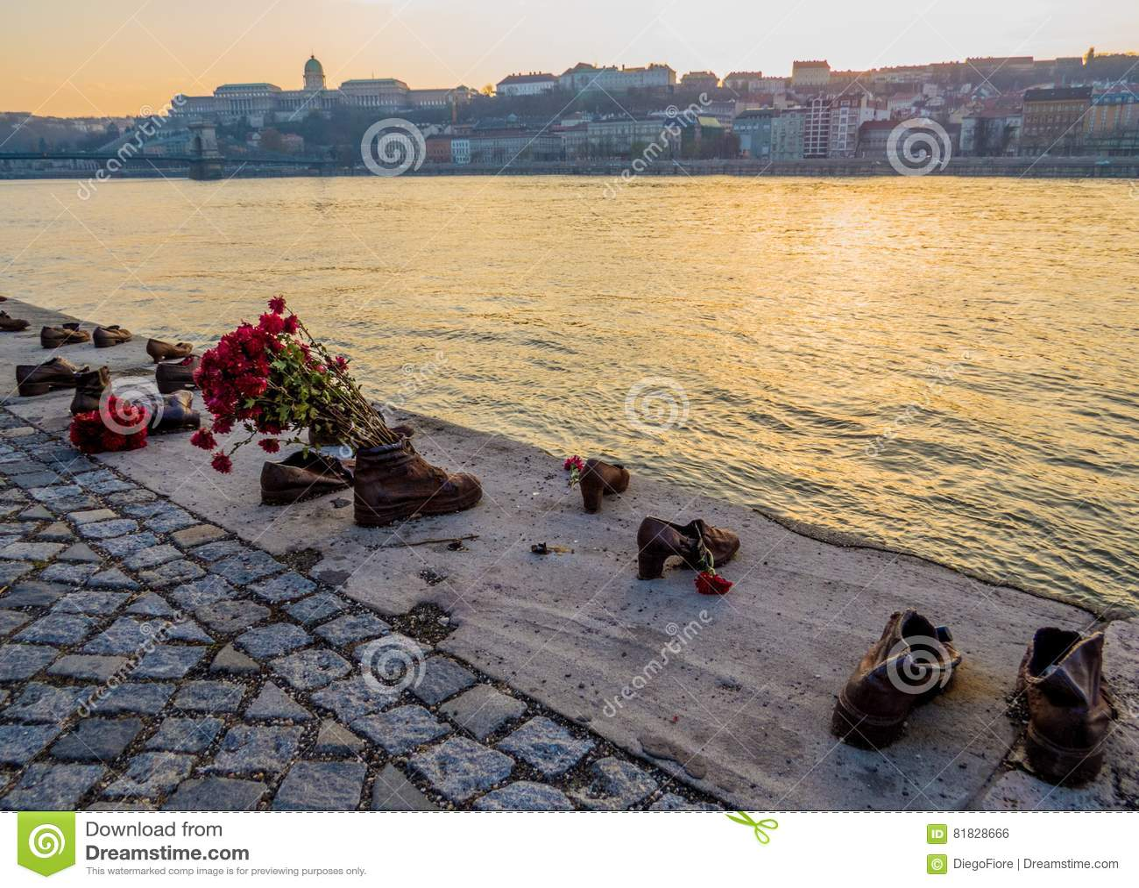 Chaussures sur la banque de Danube, Budapest