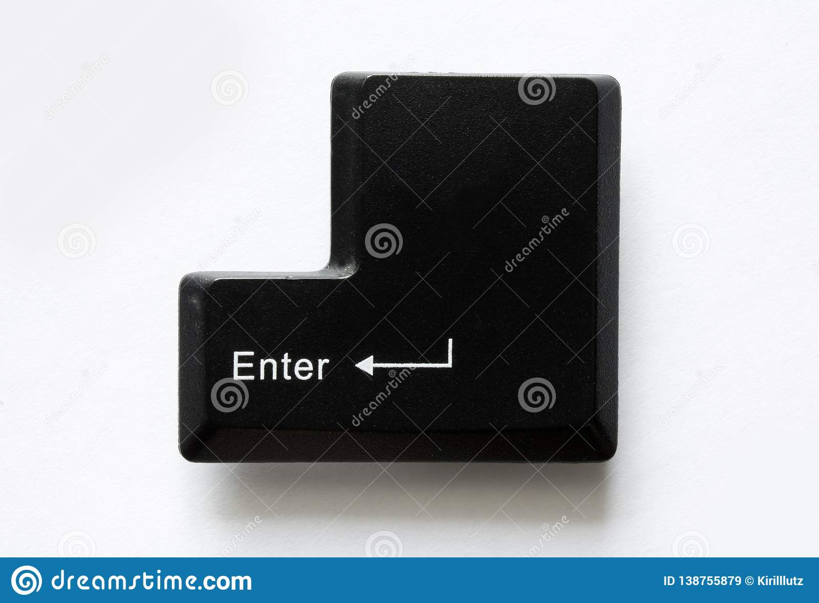 Chave de teclado do computador entre