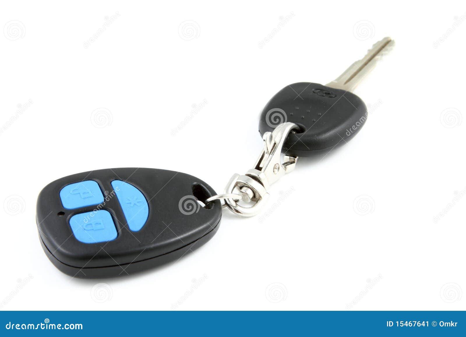 Chave do carro com telecontrole