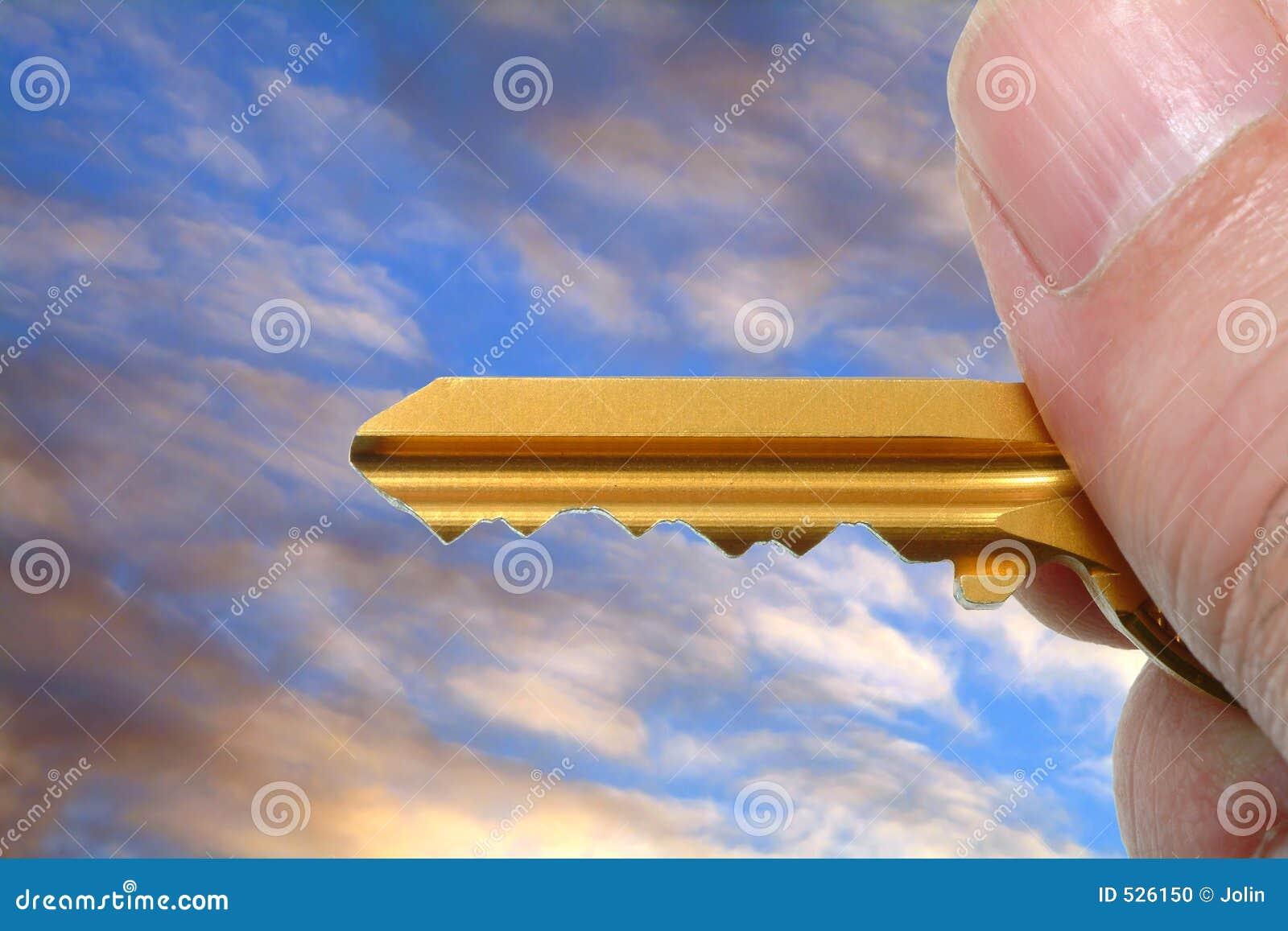 Chave dourada à disposicão