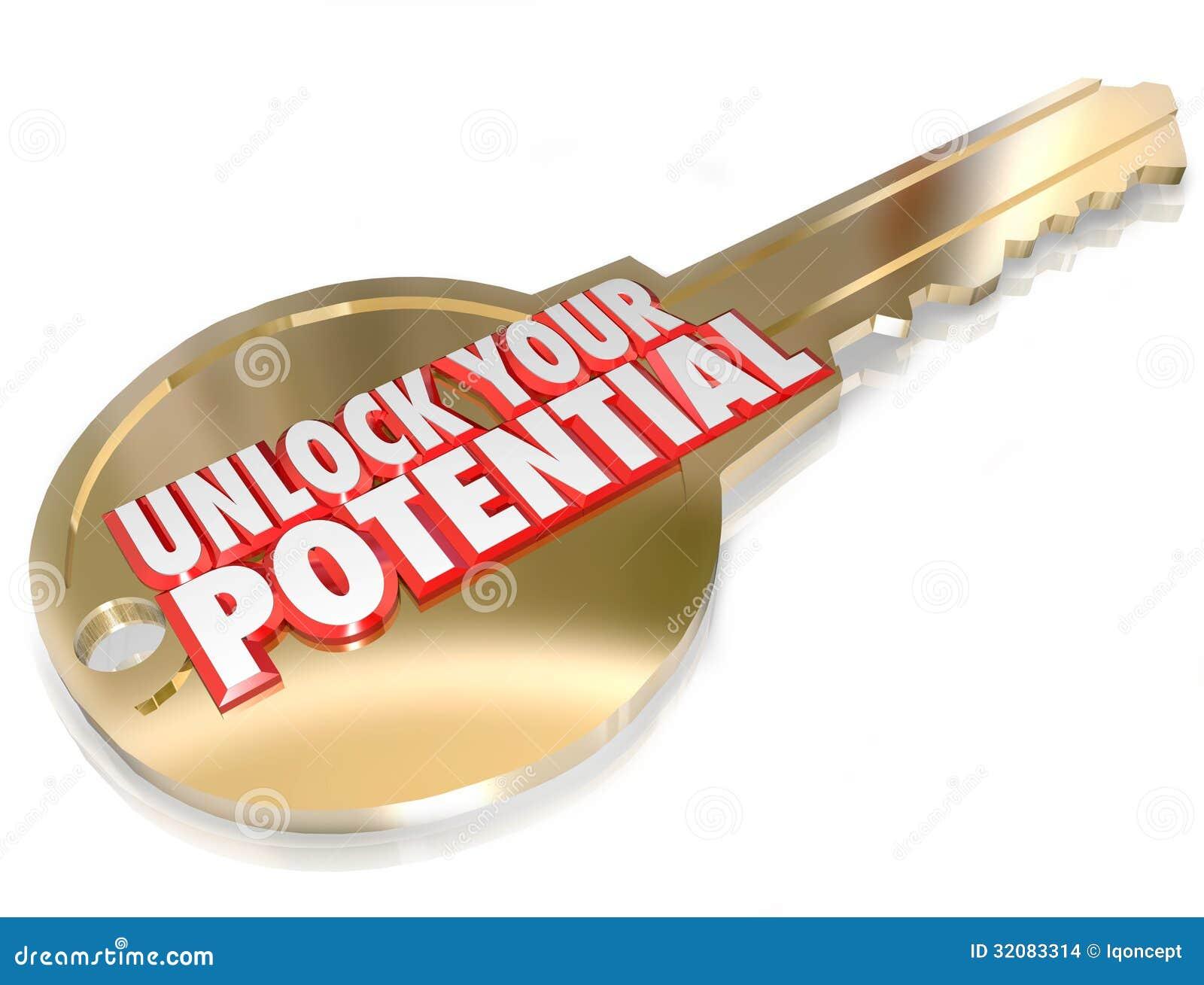 A chave para destravar seu potencial toma a oportunidade da vantagem