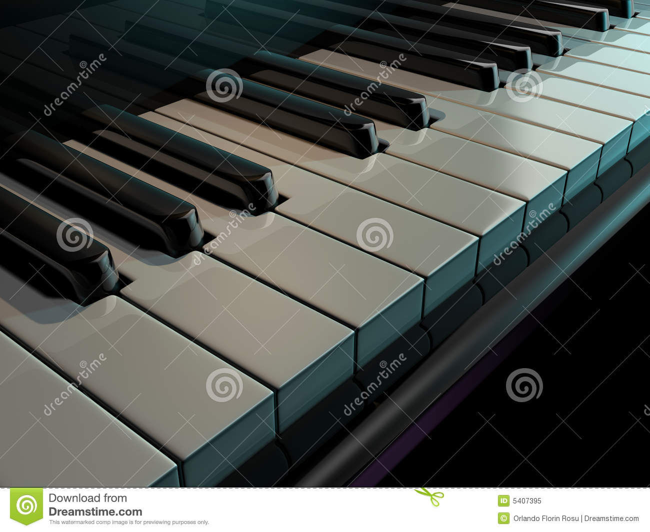 Chaves do piano