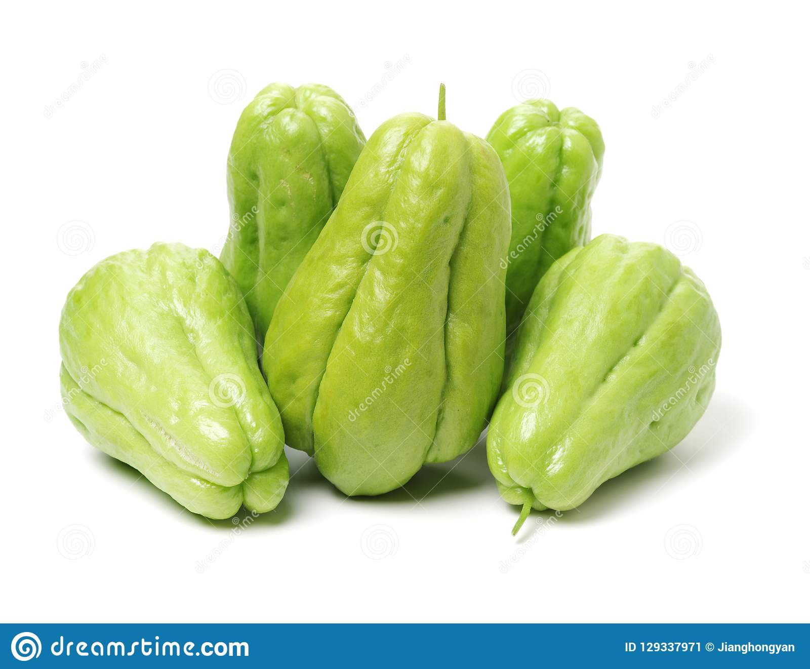 Chayote is a member of the squash, i buy from suppermaket