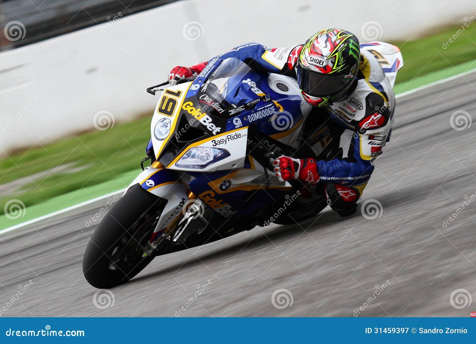 Chaz Davies #19 on BMW S1000 RR with BMW Motorrad GoldBet SBK Team Superbike WSBK