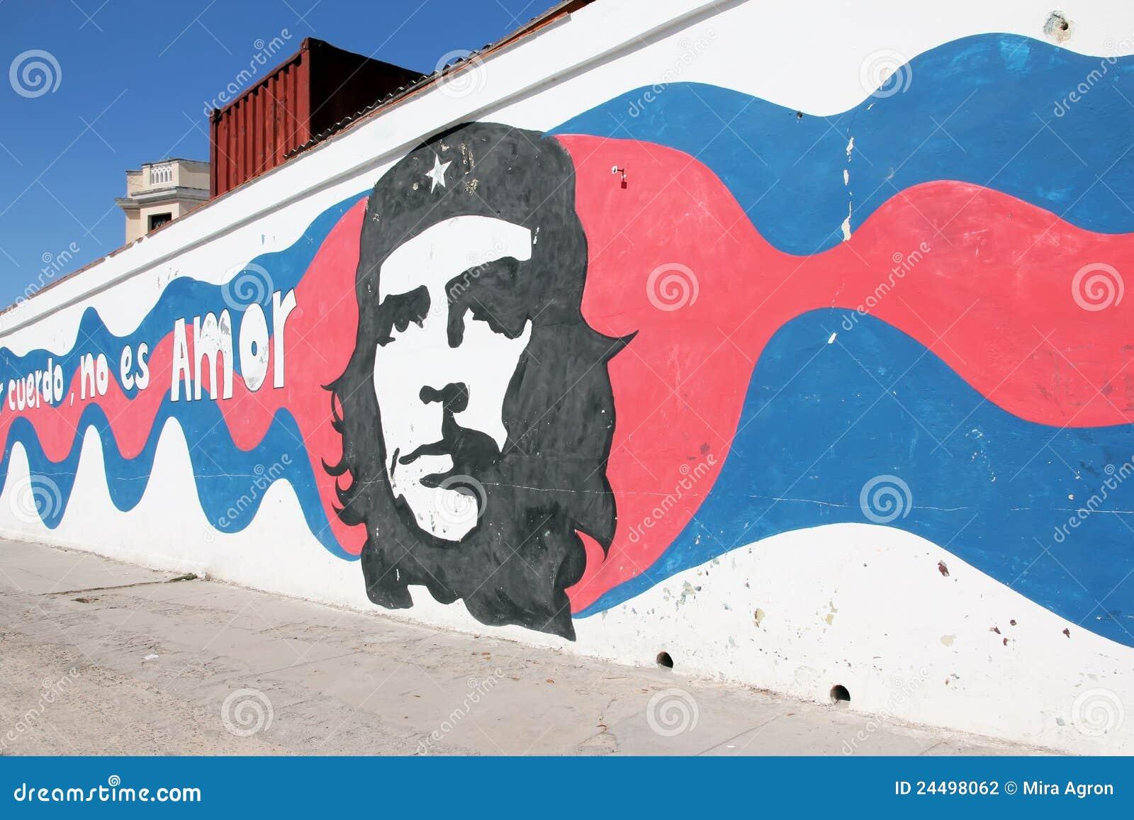 Che街道画guevara