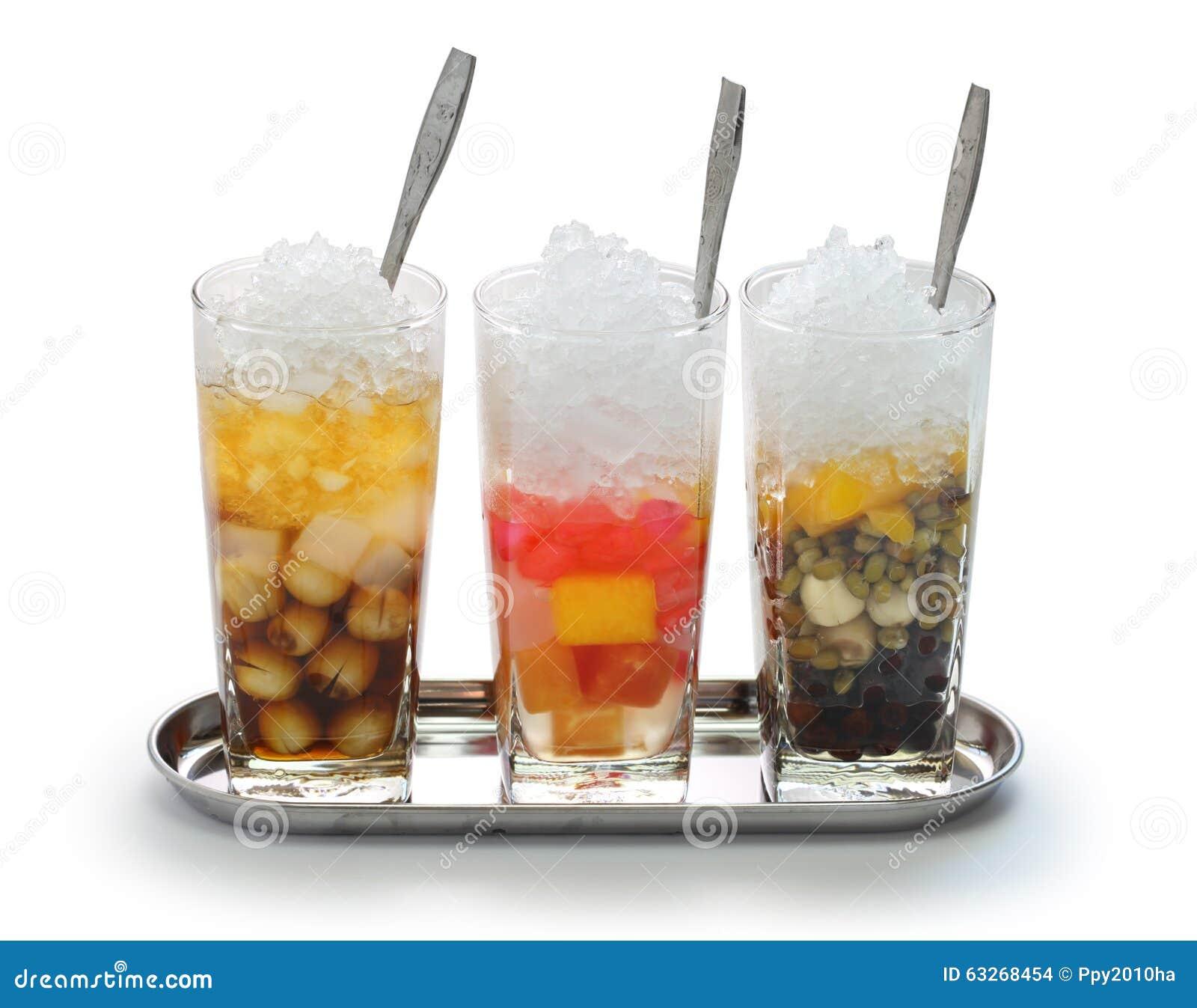 Che, wietnamczyk zimna słodka deserowa polewka
