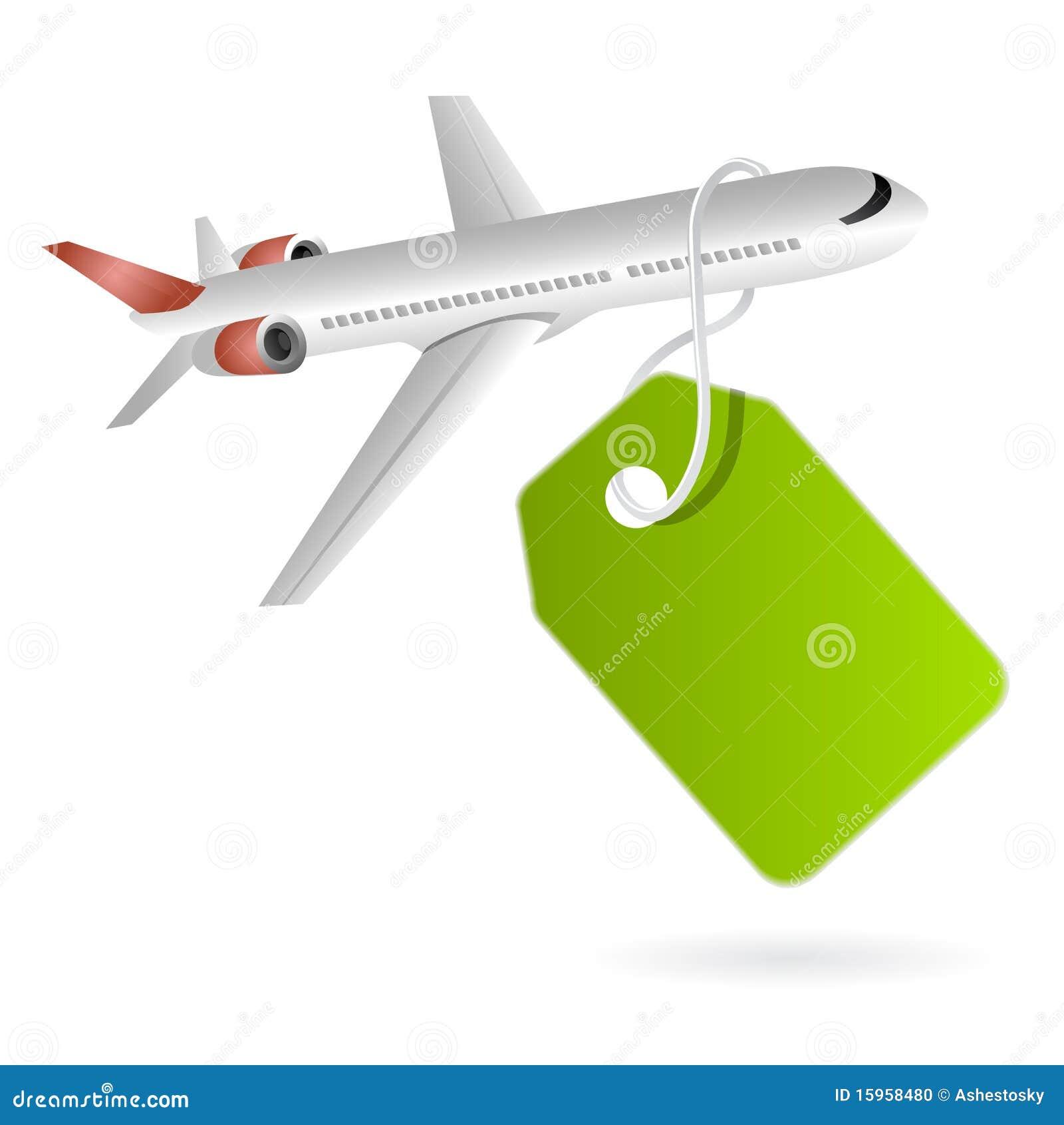 Cheap flights sales tag