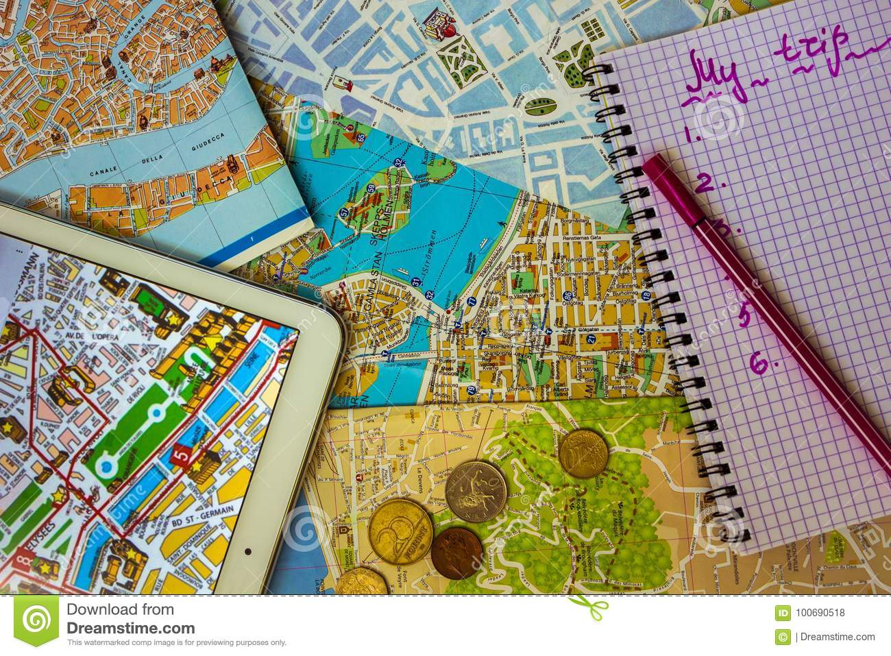 Cheap Travel Around Europe. Stock Photo - Image of ... on my country map, my weather map, my travel map,