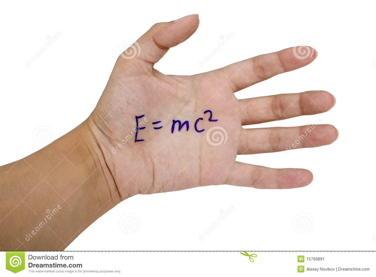 Cheat sheet on the hand stock image  Image of physics - 15769891