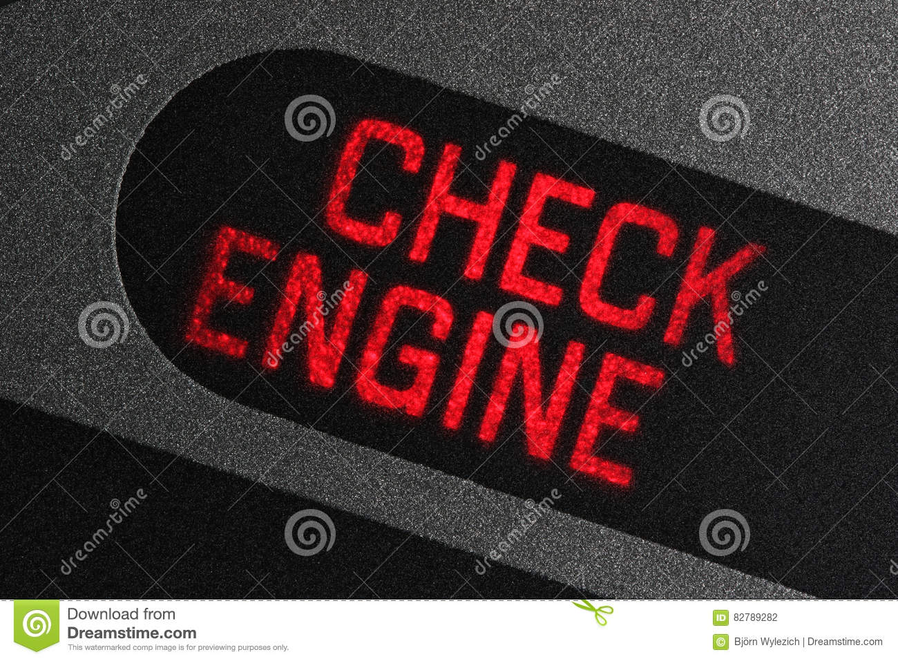 e4bc5dc3f0b Check engine warning light stock photo. Image of mobility - 82789282