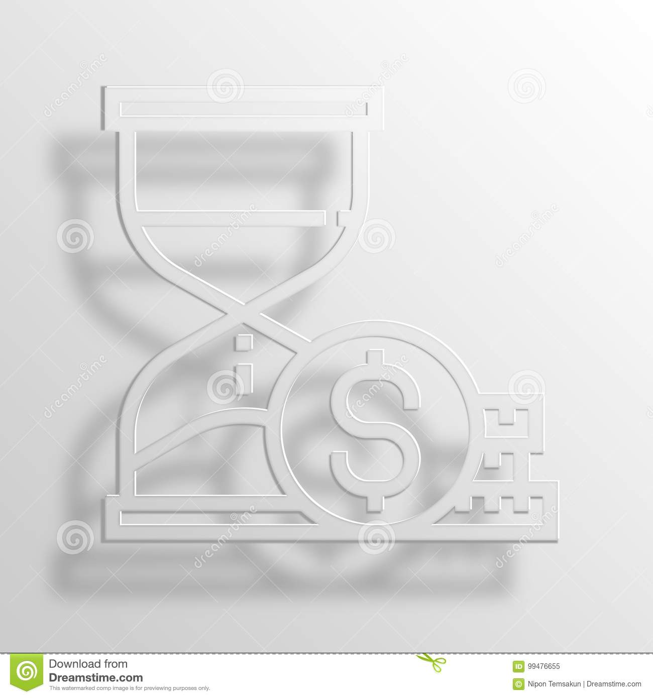 Check Mark 3d Rendering Paper Icon Symbol Business Word Cloud