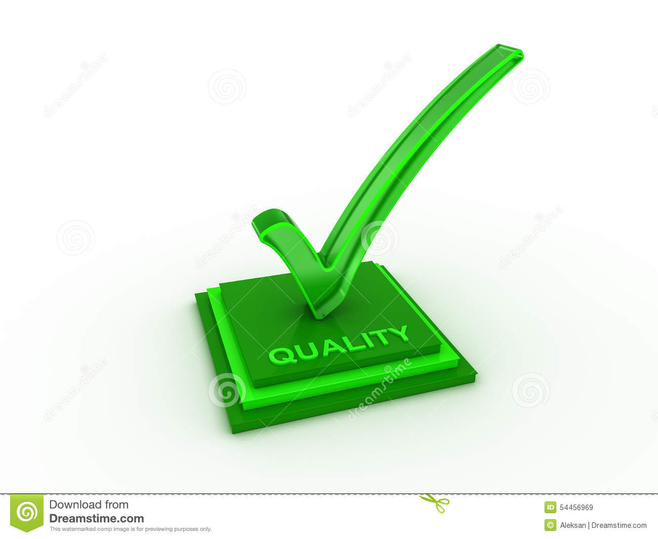 Check Mark Icon In With Quality Word Stock Image Image Of Design