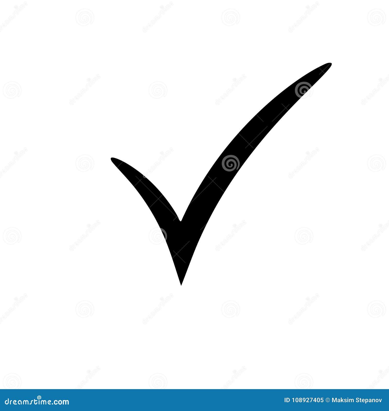 how to make check symbol